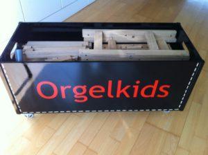 Leskist met orgel