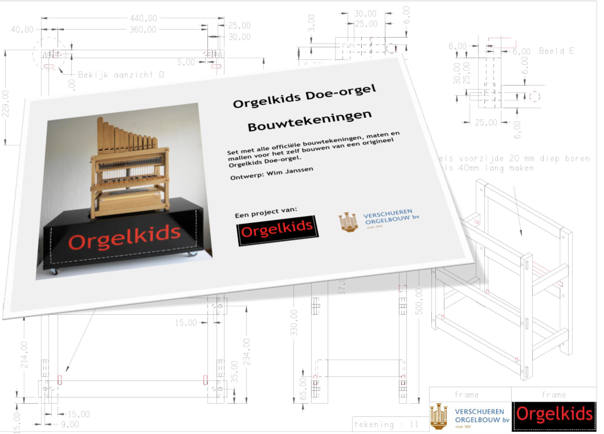 Orgelkids Builders Drawings Computer Keyboard Diagram For Kids Cabinet Block Complete Set Of Now Sale
