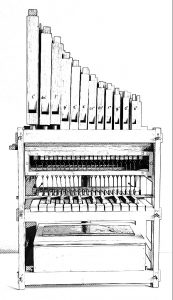Doe-orgel II zwart wit 2018